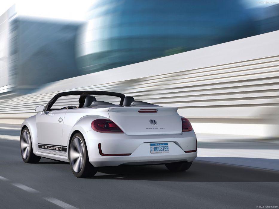 Volkswagen E-Bugster Speedster Concept cars electric wallpaper