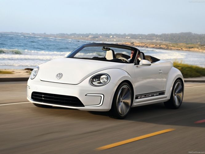 Volkswagen E-Bugster Speedster Concept cars electric wallpaper