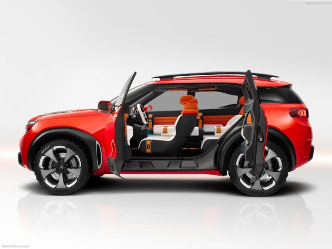 Citroen Aircross Concept cars suv 2015 wallpaper