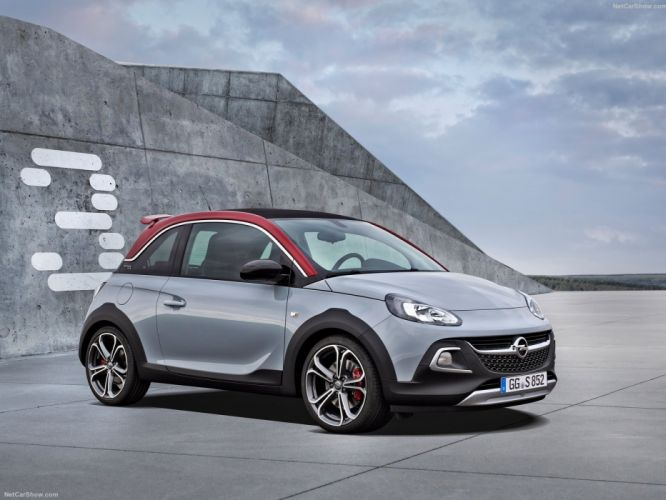 Opel Adam Rocks S cars 2016 wallpaper
