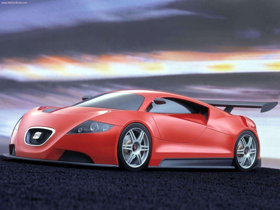 Seat Cupra GT Concept cars 2003 wallpaper