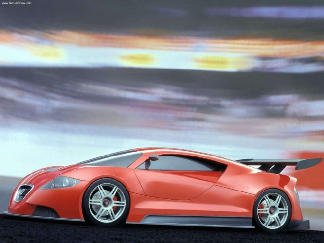Seat Cupra GT Concept cars 2003 wallpaper