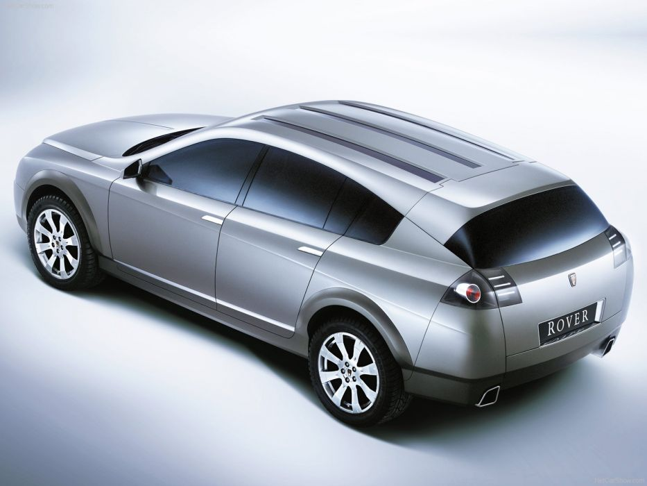 2002 Concept rover TCV cars wallpaper
