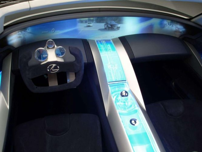 Lexus LFC Concept cars convertible 2004 wallpaper