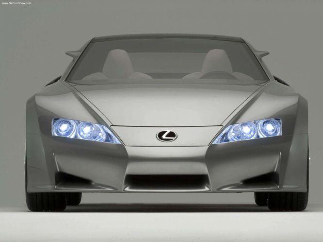 Lexus LFA Concept cars 2005 wallpaper