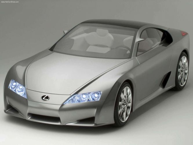 Lexus LFA Concept cars 2005 wallpaper