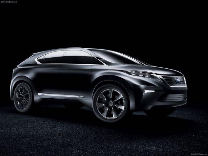 Lexus LF-Xh Concept suv cars 2007 wallpaper