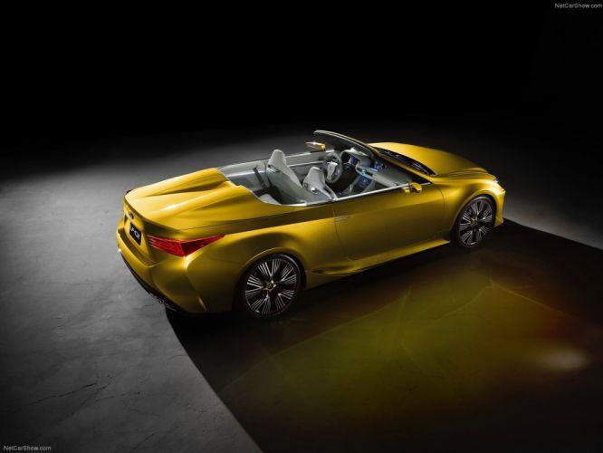 Lexus LF-C2 Concept cars convertible 2014 wallpaper