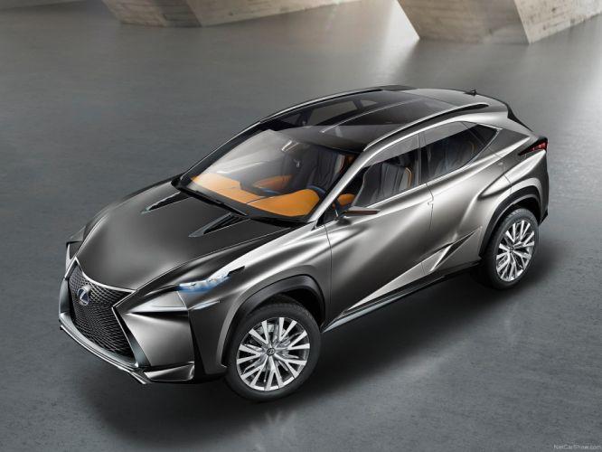 Lexus LF-NX Concept cars suv 2013 wallpaper