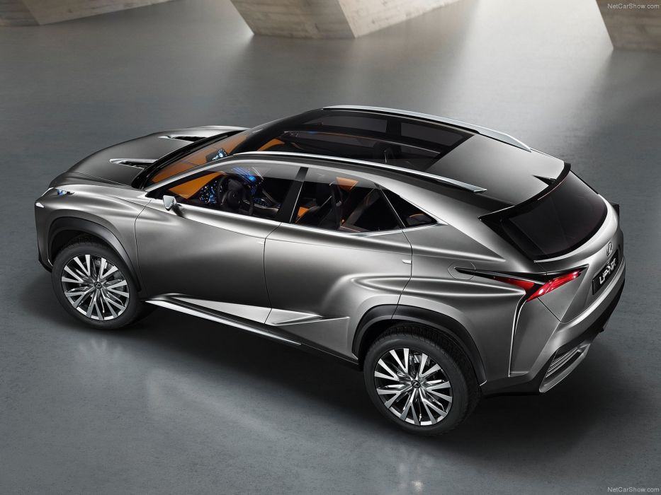 Lexus LF-NX Concept cars suv 2013 wallpaper