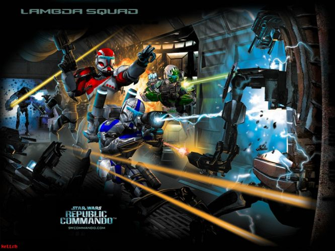STAR WARS Republic Commando sci-fi strategy tactical shooter action fighting 1swrc wallpaper