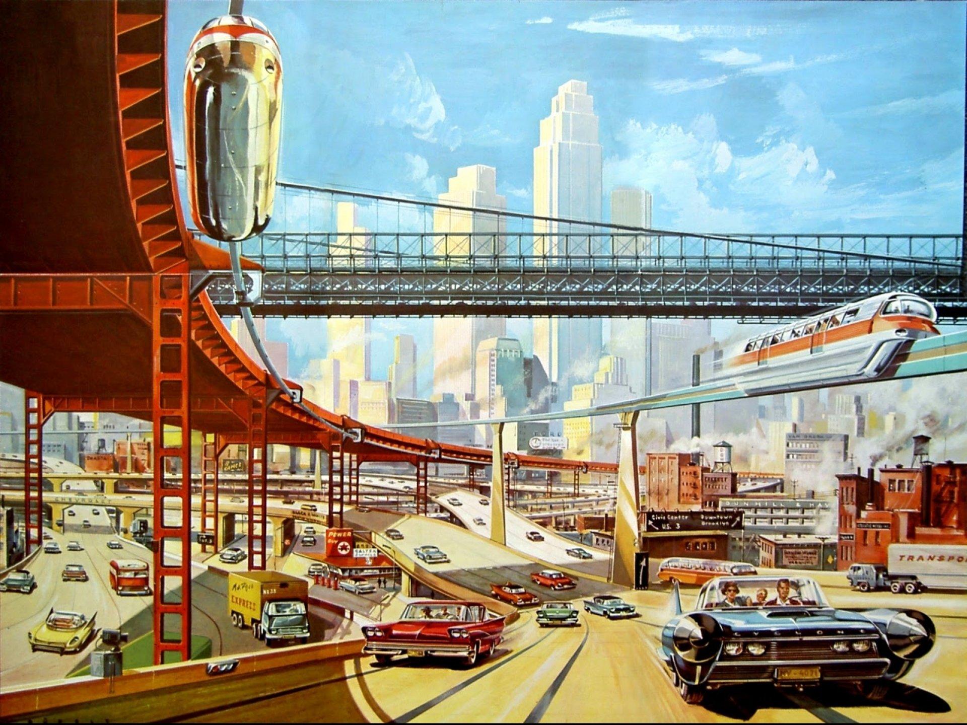 Sci Fi Futuristic City Cities Art Artwork Wallpaper