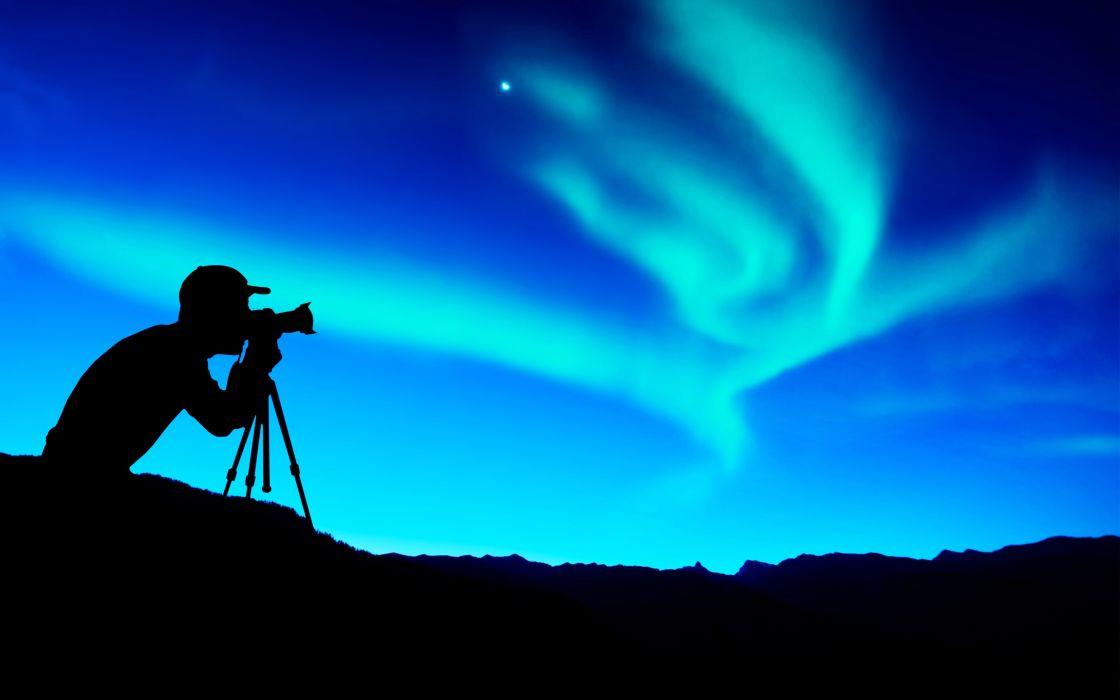 photographer sky clouds camera photos nature landscape earth blue wallpaper
