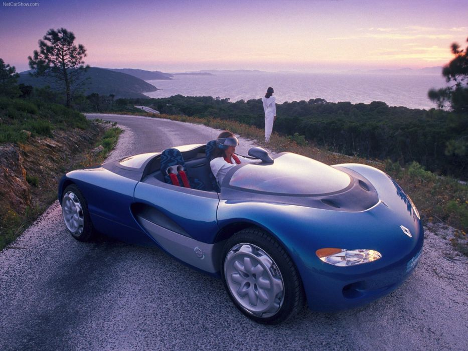 Renault Laguna Concept cars 1990 wallpaper