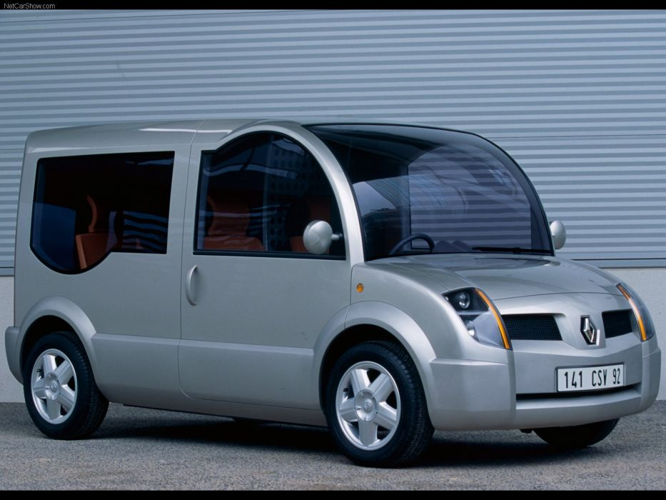 Renault Modus Concept cars van 2000 wallpaper