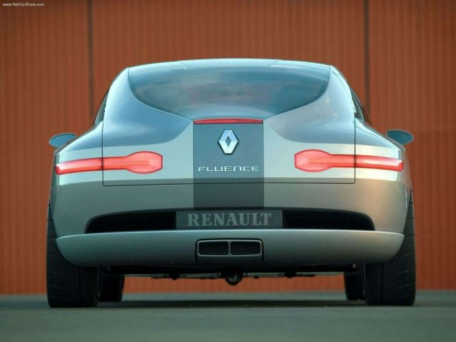 Renault Fluence Concept cars 2004 wallpaper