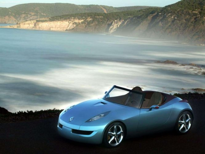 Renault Wind Concept cars convertible 2004 wallpaper