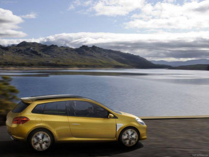 Renault Clio Grand Tour Concept cars 2007 wallpaper