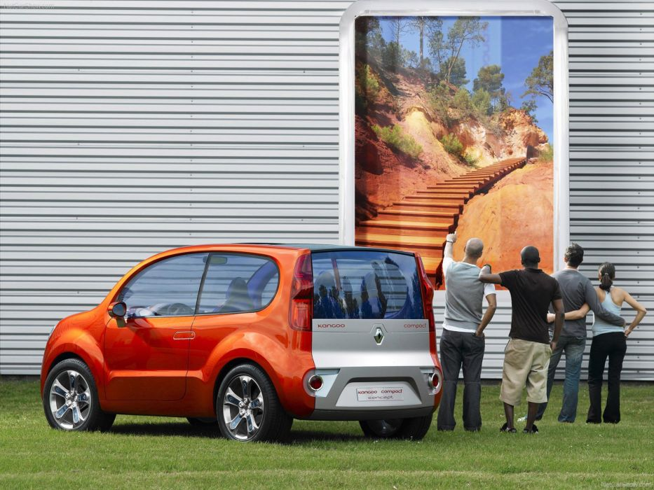 Renault Kangoo Compact Concept cars 2007 wallpaper