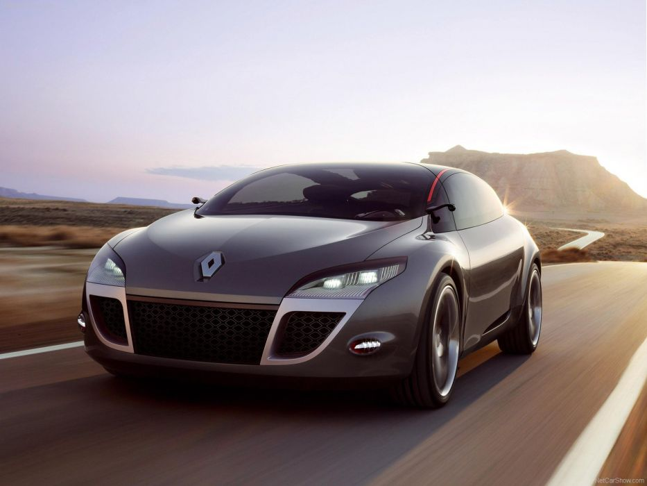 Renault Megane Coupe Concept cars 2008 wallpaper