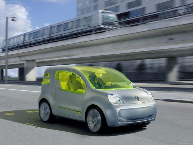 Renault ZE Concept cars electric 2008 wallpaper
