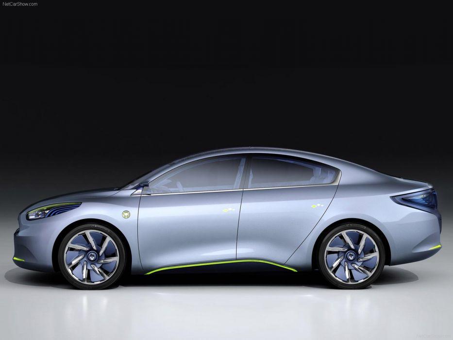 Renault Fluence ZE Concept electric cars 2009 wallpaper