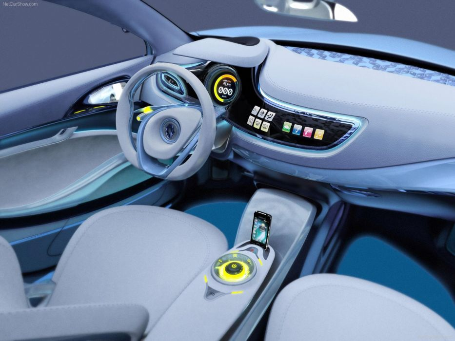 Renault Fluence Ze Concept Electric Cars 2009 Wallpaper 1600x1200