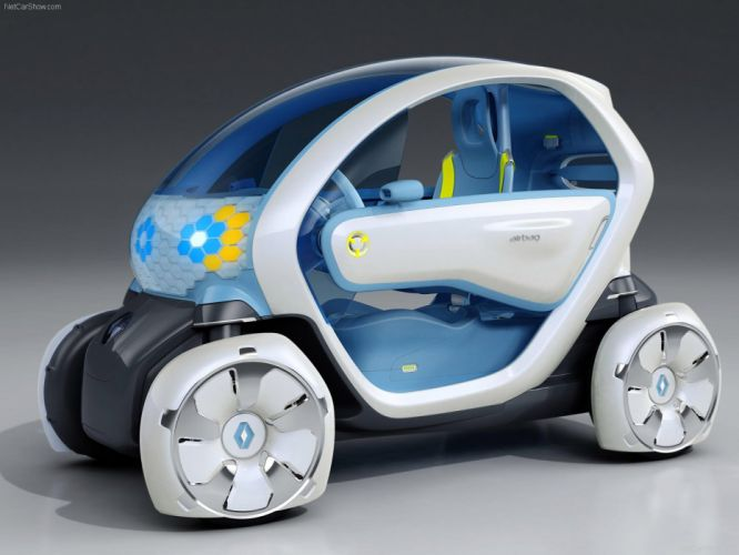 Renault Twizy ZE Concept concept cars electric 2009 wallpaper