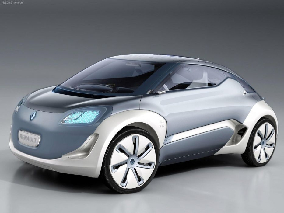 Renault Zoe ZE Concept cars electric 2009 wallpaper