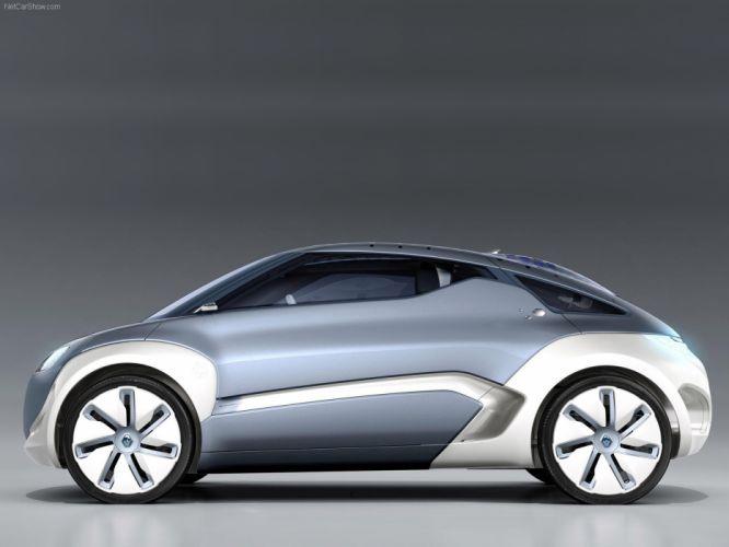 Renault Zoe ZE Concept cars electric 2009 wallpaper