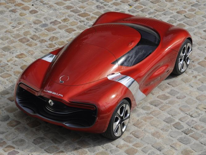 Renault DeZir Concept cars 2010 wallpaper