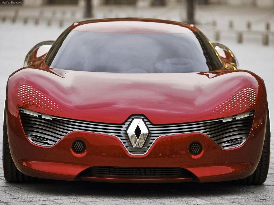 Renault DeZir Concept cars 2010 wallpaper