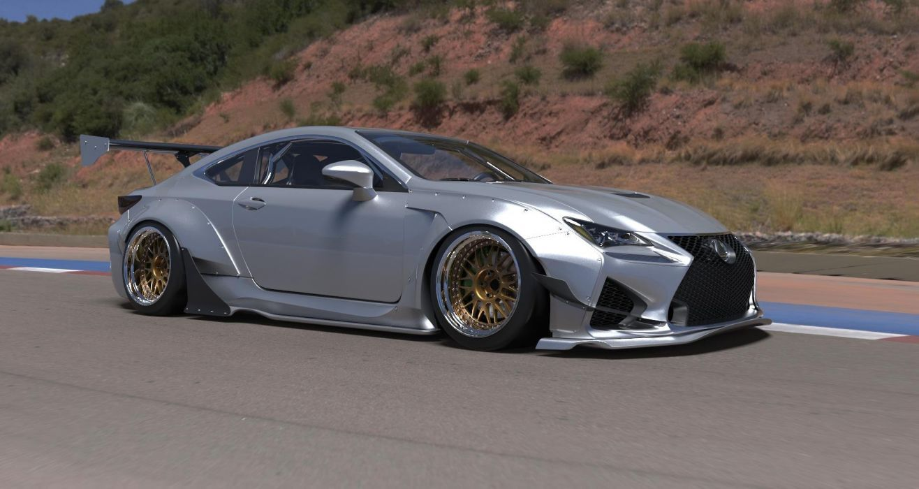 Rocket Bunny 2015 Widebody Scion FRS t tuning bodykit wallpaper