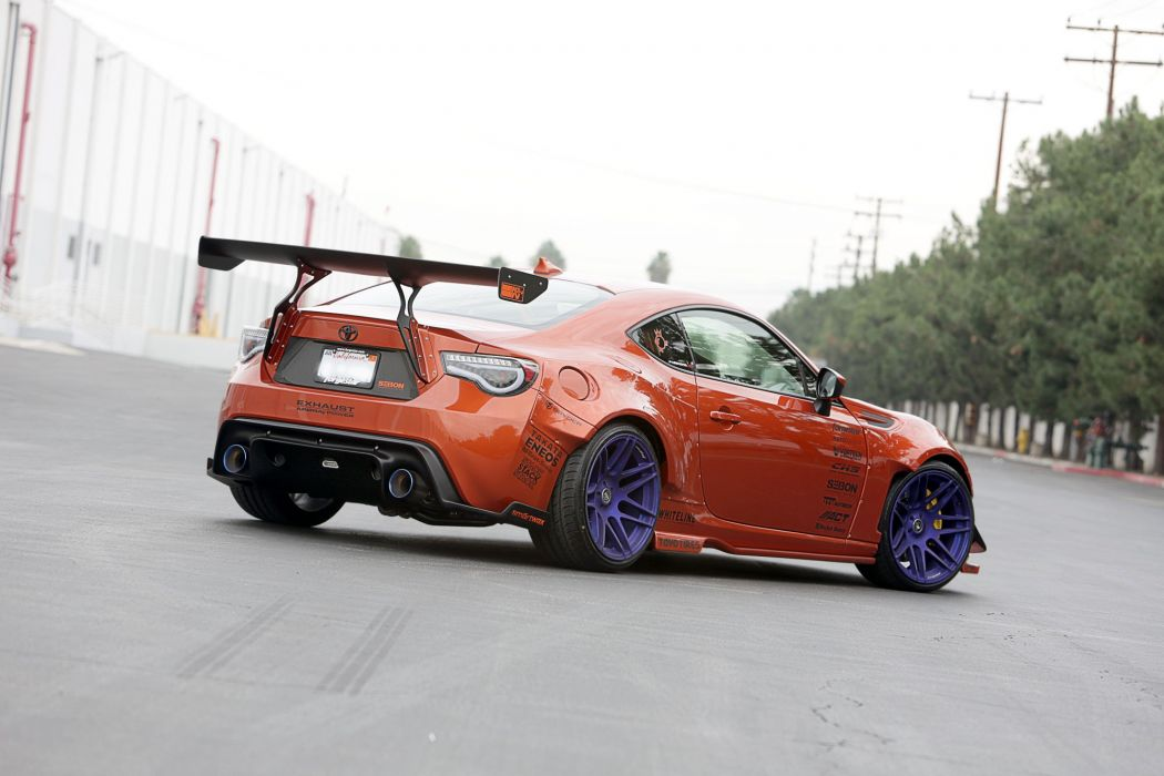 Rocket Bunny 2015 Widebody totyota gt86 tuning bodykit wallpaper