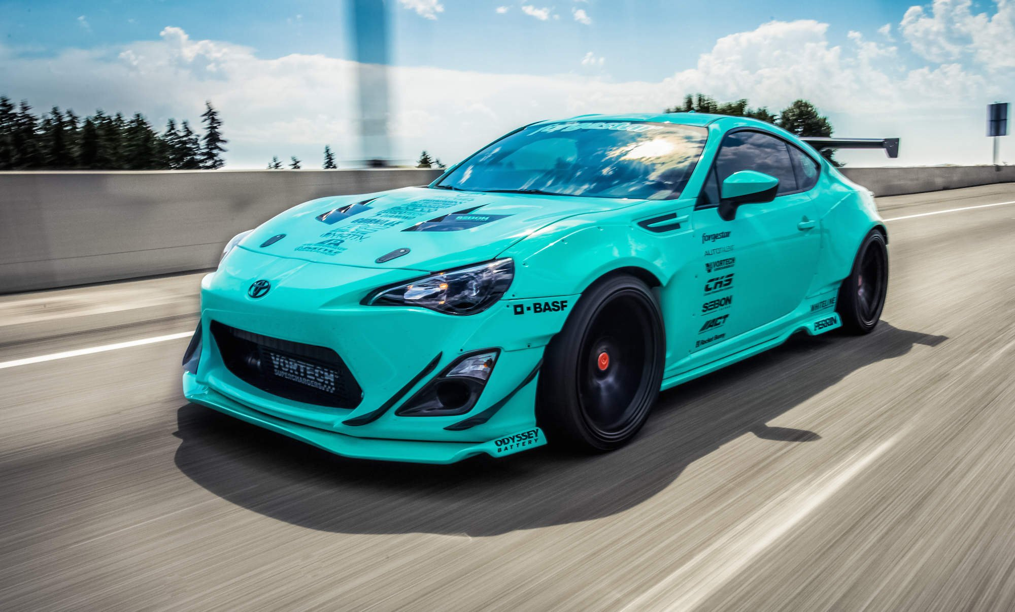 Rocket Bunny 2015 Widebody Totyota Gt86 Tuning Bodykit