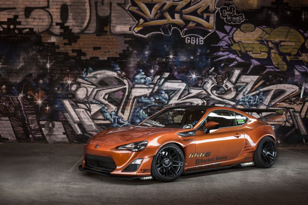 2015 bodykit bunny FRS rocket scion Tuning WideBody wallpaper