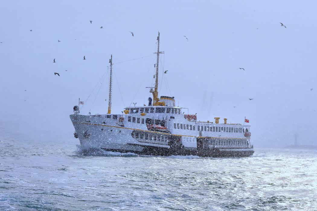 watercrafts ship birds travel trip sea ocean sailing fishing wallpaper