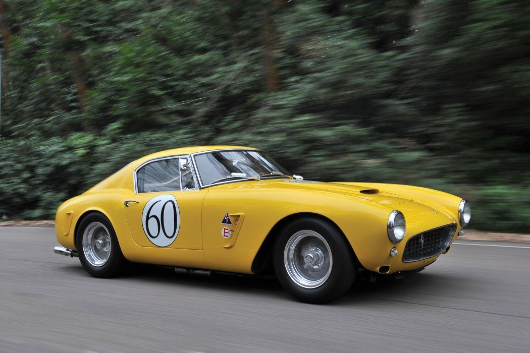 Ferrari 250 GT Berlinetta Passo Corto Competizione 1660 classic racecars wallpaper