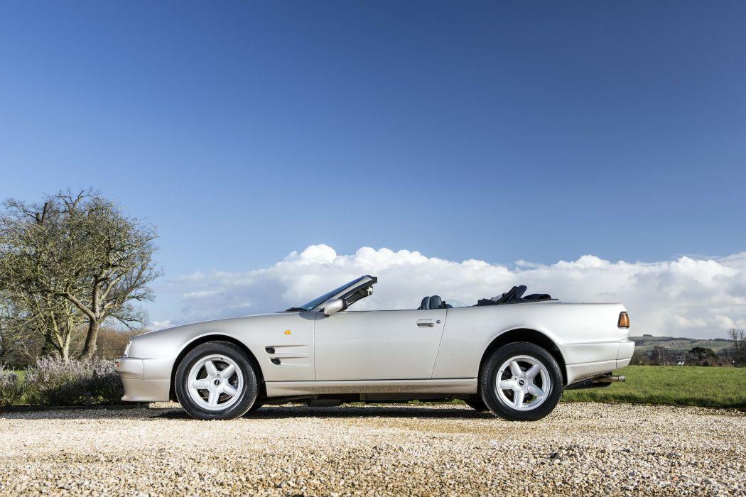 Aston Martin Virage Volante UK-spec 1992 classic cars wallpaper