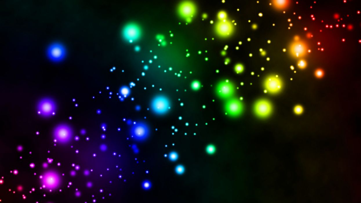 Lights Colorful Background Wallpapers Wallpaper