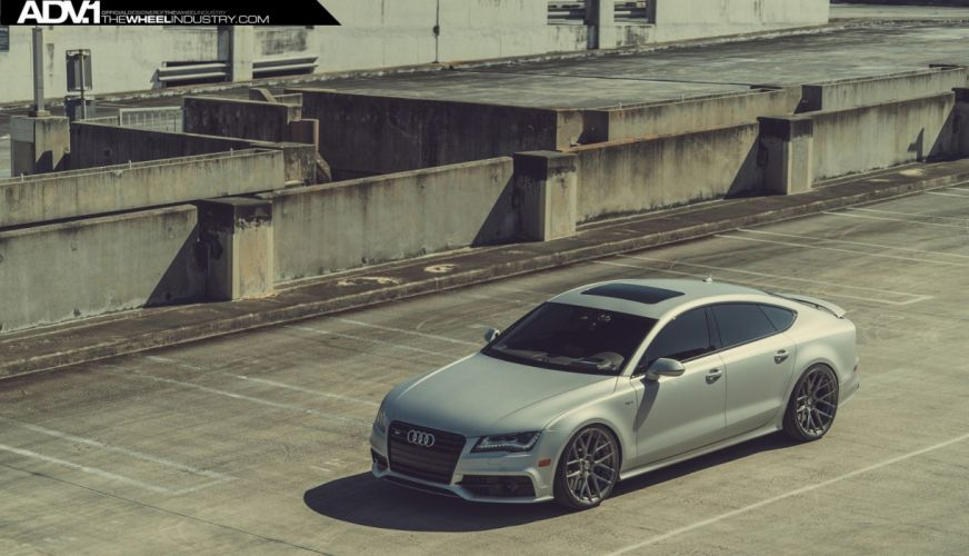 ADV 1 WHEELS audi s7 tuning cars 2015 wallpaper