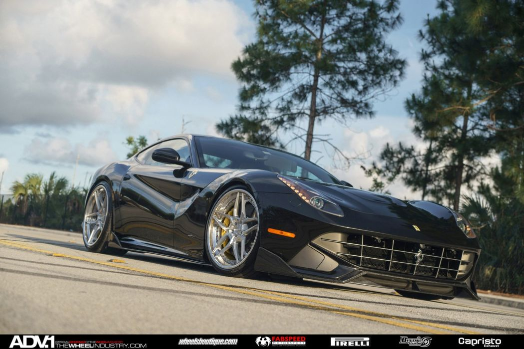 ADV 1 WHEELS FERRARI F12 BERLINETTA tuning cars 2015 wallpaper