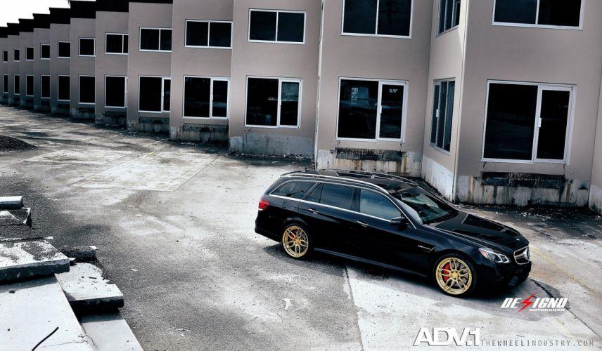 ADV 1 WHEELS MERCEDES E63 AMG wagon tuning cars 2015 wallpaper