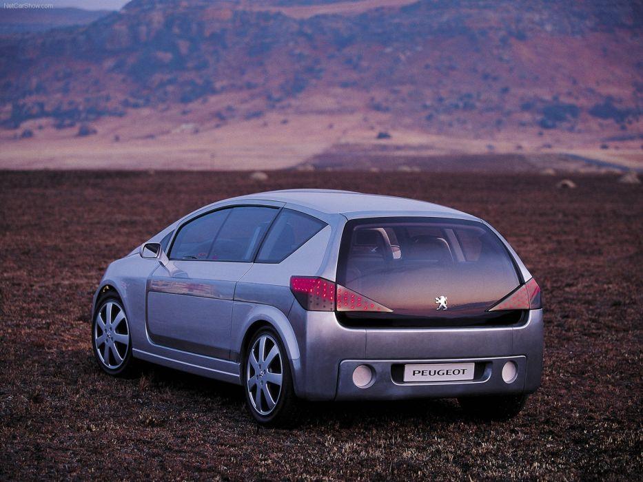 Peugeot Promethee Concept cars 2000 wallpaper