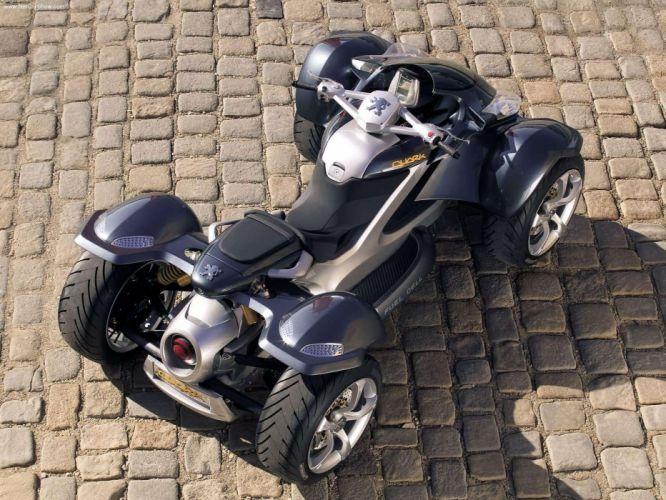 Peugeot Quark Concept motorcycle 2004 wallpaper