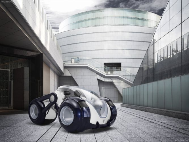 Peugeot RD Concept motorcycle scooter 2009 wallpaper