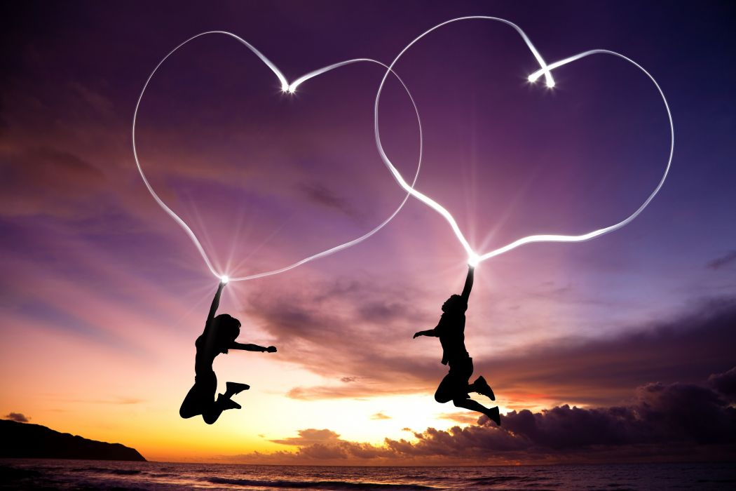 corazones fantasia amor wallpaper
