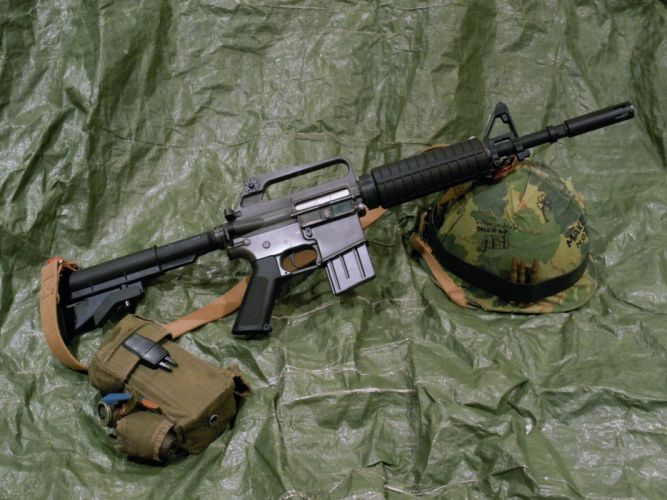 m16 shturmovaya vintovka oruzhie gun army military Ammunition bullets Automatic Helmet Soldier wallpaper