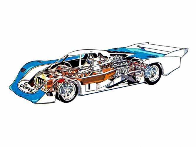 Ford C100 Group-C cars racecars technical wallpaper