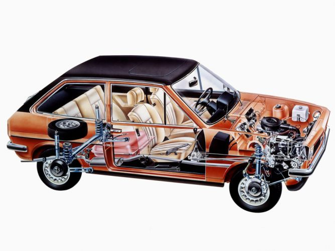 Ford Fiesta Ghia cars technical wallpaper